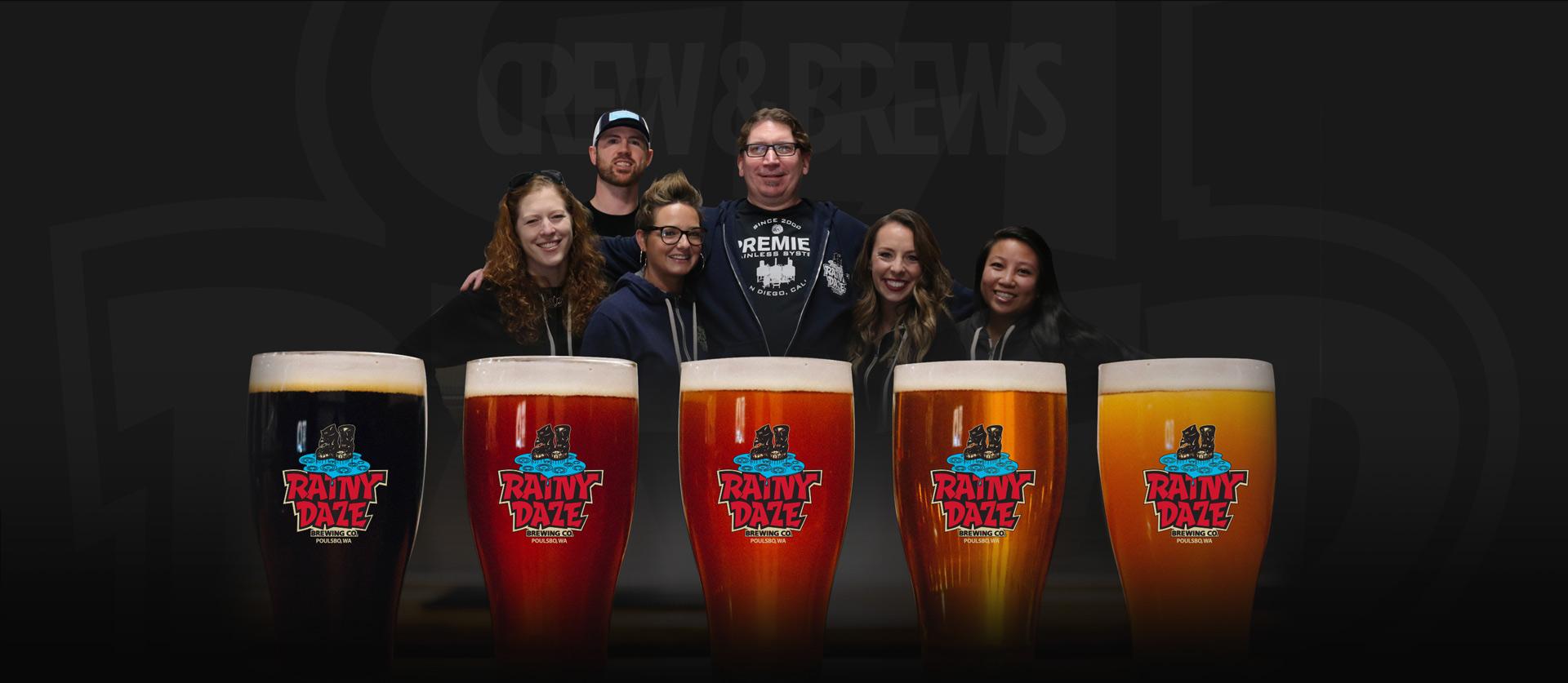 Rainy Daze Crew & Brews